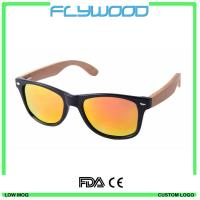 2016 Bamboo Wooden Sunglasses Cheap Wholesale Sunglasses China Custom Logo Promotional