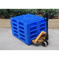 Wholesale Blue HDPE Plastic Pallet Deck High Abrasion Resistance For Warehouse Packaging from china suppliers