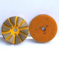 Wholesale 10 Seg Turbo Diamond Metal Polishing Pad from china suppliers