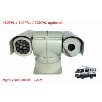 Wholesale IR 100M Night Vision Intelligence PTZ Thermal Imaging Rugged Police Car Camera from china suppliers