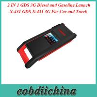 Wholesale 2 IN 1 GDS 3G Diesel and Gasoline Launch X-431 GDS X-431 3G For Car and Truck from china suppliers