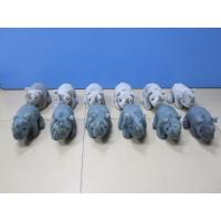 Wholesale Grey and Black Stuffed Animal Rhino Rhinoceros Plush Toys 20cm from china suppliers