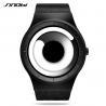 Buy cheap SINOBI Unique Vortex Concept Watch Men High quality Stainless Steel Milan Band Modern Trend Sport Black Wrist Watches from wholesalers