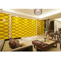Wholesale Empaistic 3D Home Decal  Natural Fiber Wallpaper , Modern Colored 3D Wall Sticker from china suppliers