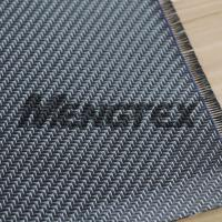 Wholesale Glitter 3K Carbon Fiber Silvery Carbon Fiber Cloth/Fabric Twill from china suppliers