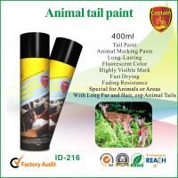 Quality Eco Friendly aerosol marking paint , Animal Marking Paints For Pig / Sheep / Cattle for sale