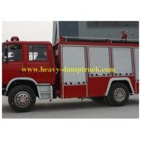Wholesale Biggest Fire Truck  4x2 drive Water Tank 6 CBM With Foam Tan Fire from china suppliers