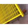 Buy cheap Canada standard Construction Temporar Fencing Panels 6'x9.6' mesh 2