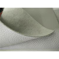Wholesale Stone Full Grain Cow Eco Friendly Leather White For Furniture / Sofa from china suppliers