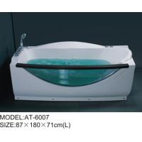 Wholesale Plastic jaccuzi tub corner jetted bathtub for adults optional Air pump from china suppliers
