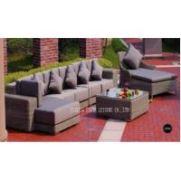Wholesale Comfortable Patio Furniture Dining Sets Sectional Sofa Set For Garden / Yard from china suppliers