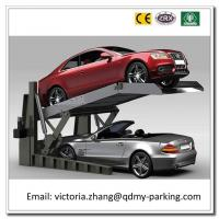 Wholesale Cheap and High Quality 2 Cars Veritcal Stacker Double VehicleTwo Post Tilting Parking Lift from china suppliers
