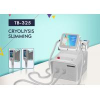 Wholesale Portable Cryolipolysis Slimming Machine 2 Handles Cool Body Sculpting Fat Freezing Machine from china suppliers