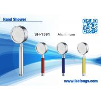 Wholesale Aluminum Alloy Metal Rain Replacement Shower Head With Handheld from china suppliers