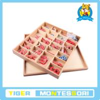 Wholesale Wood - Small Movable Alphabet (Red & Blue) from china suppliers