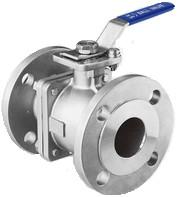 Wholesale JIS Flanged Two Piece SS Ball Valve from china suppliers