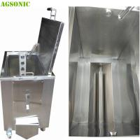 Wholesale Double Walled Insulated Stainless Steel Soak Tank Trolly Heated Ultrasonic 2KW from china suppliers