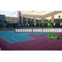 Wholesale Waterproof Plastic Modular Sports Flooring For Basketball Court , Star Pattern from china suppliers