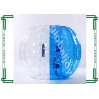 Wholesale Exciting Inflatable Bumper Bubble Balls , Plato 0.7-1.0 mm PVC Body Zorb Ball from china suppliers