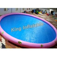 Wholesale 18m Diameter Round Inflatable Swimming Pools With Animal Printing , 500kg Weight from china suppliers