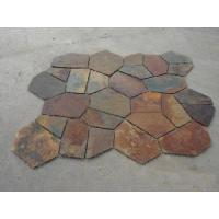 Wholesale Slate Meshed Stone /Slate Flagstone/ Stone Mosaic from china suppliers