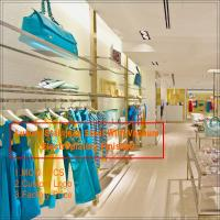 Quality New clothes store clothing showroom interior design for sale