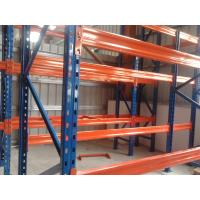 Buy cheap 3 Levels Heavy Duty Racking System With Steel Plate Decking 3000H * 1000D * 2300L from wholesalers