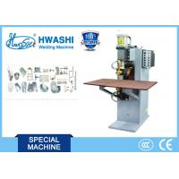 Wholesale Hwashi Table Pneumatic Spot Welding Machine Miniature Spot Welder from china suppliers