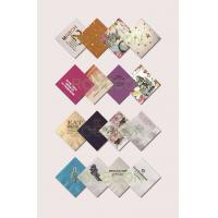 Wholesale Colorful Restaurants Disposable Printed Paper Napkins 16Gsm / 18Gsm from china suppliers