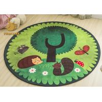 Buy cheap Personalized Round Bedroom Rugs , Colorful Round Rugs For Dining Room from wholesalers
