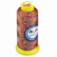 Wholesale 120D/4500 yards embroidery thread with mixed colors from china suppliers
