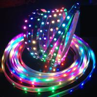 Wholesale Dreamful color DC5v Ws2812B LED Strip , epistar chip rgb LED pixels for night club from china suppliers