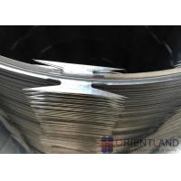 China Single Coil Razor Wire / Jail Wire Fence 54-56 Loops Quick To Install on sale