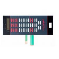 Wholesale Good Tactility Performance LED Membrane Switch Assembly With 3M467 / 3M468 Adhesive from china suppliers