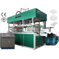 Wholesale Disposable Fast Food Container / Paper Thermoforming Plate Making Machine 7000Pcs / H from china suppliers