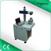 Wholesale Metal Nameplate Marking Machine , Industrial Laser Marking Equipment Air Cooling from china suppliers