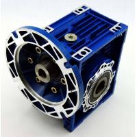Quality RV/NMRV/NMRW 030 series worm gear box with flange shaft mounted speed reducer reductor for sale