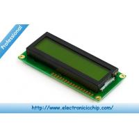 Wholesale STN 16x2 Black Green Character LCD Display 3.3V For Arduino , ST7066 controller from china suppliers