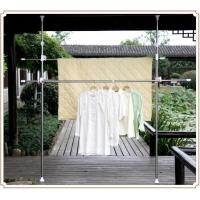 Wholesale Vertical Steel Indoor Outdoor Clothes Drying Rack , Heavy Duty Garment Rack from china suppliers
