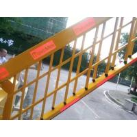 Galvanized Automatic Heavy Duty Fence Arm Parking Barrier Gate With Powder Coated