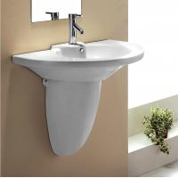 Wholesale 732 Overglaze Pedestal basin from china suppliers