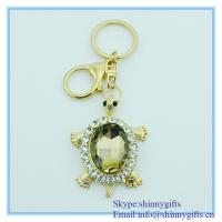 Wholesale High quality turtoise shape metal key chain from china suppliers