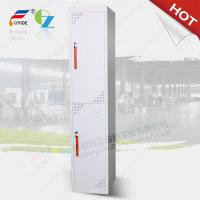 Wholesale Two steel door cabinet steel locker FYD-G002,CRS 0.7 mm thickness material,KD structure from china suppliers