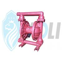 Wholesale Colorful Pneumatic Double Diaphragm Pump Self Priming For Corrosive Liquids from china suppliers