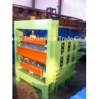 Wholesale Double - Deck Hydraulic Crimping Equipment For Metal PPGI Roof Panel 1mm from china suppliers