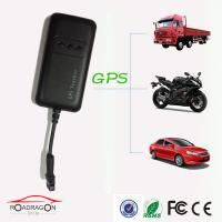 Wholesale Built - in Vibration Sensor Motorcycly / Vehicle GPS Tracker With Black Color from china suppliers