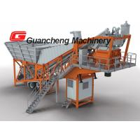 Wholesale High Precision PLC Control Automation Mobile Concrete Batching Plant ISO / CE / BV from china suppliers