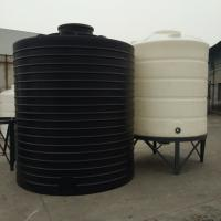 Wholesale PT 10000 Roto molding large Non potable Round Polyethylene bulk water storage tank from china suppliers