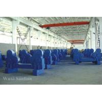 Wholesale 80T PU Self Aligning Welding Turning Rolls 4kw Of Rotator Welded By Plate from china suppliers