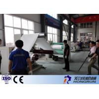 Wholesale Professional PS Foam Sheet Extrusion Line , PS Foam Machine 100-180kg/H from china suppliers